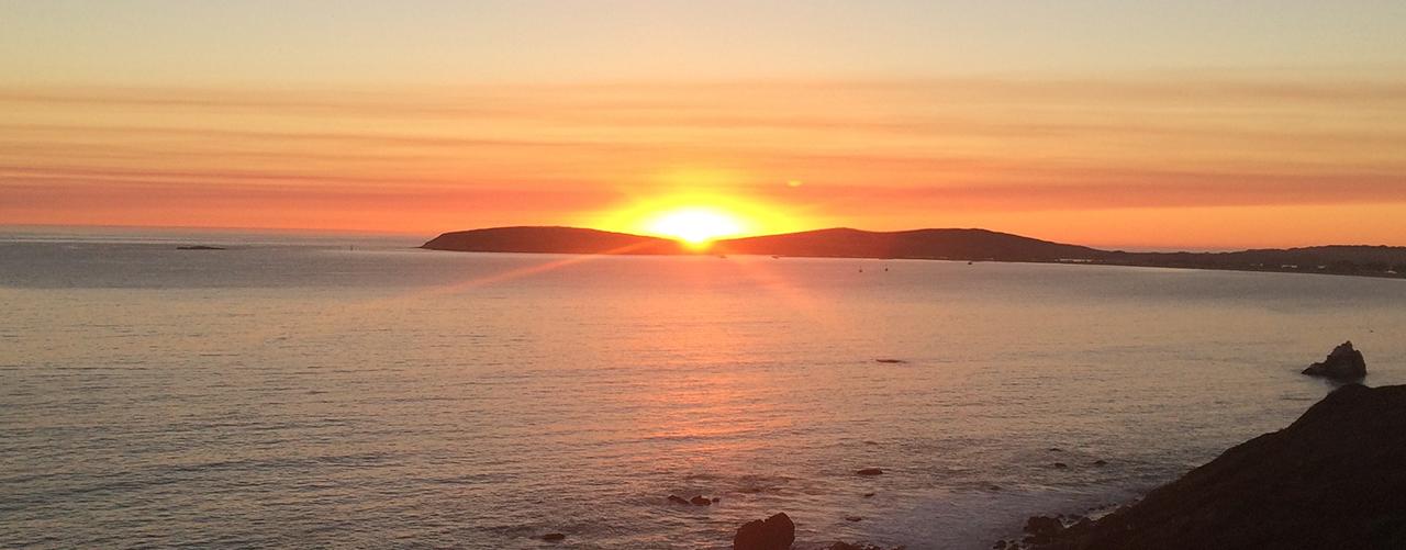 Bodega Bay Sunset   Fishermans Chapel by the bay